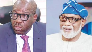 Photo of Edo/Ondo Guber: APC Governors meet over Obaseki, Akeredolu