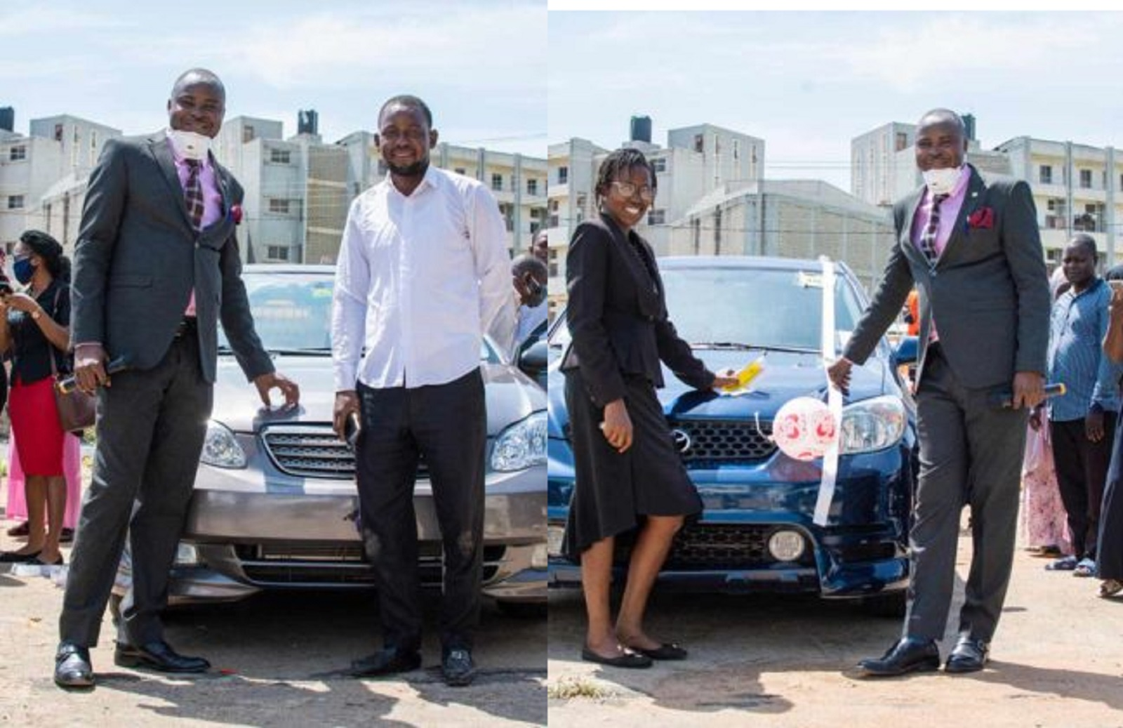 Photo of Wole Olanipekun Raffle Draw: Two Young Lawyers Receive Car Gifts