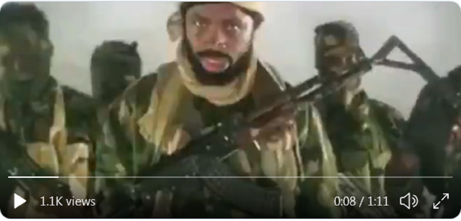 Photo of Boko Haram: Shekau cries out, says 'Allah protect us from devilish acts of Nigerian Army' [AUDIO]