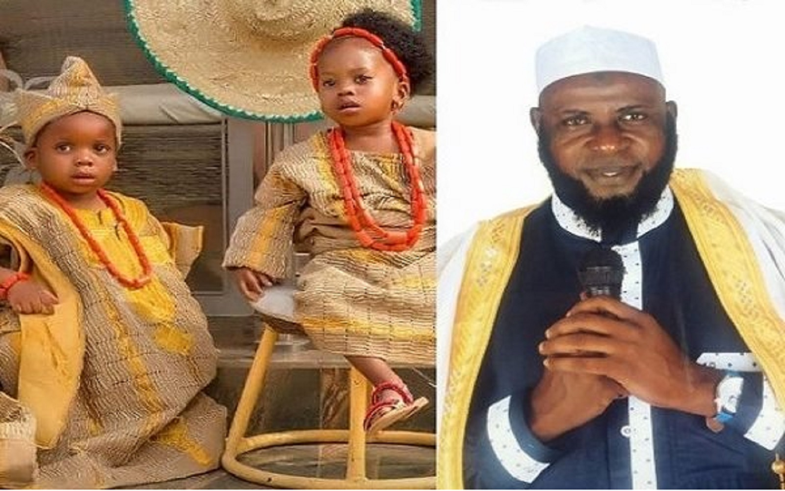 Photo of BREAKING: Kidnappers free popular Islamic cleric's twins