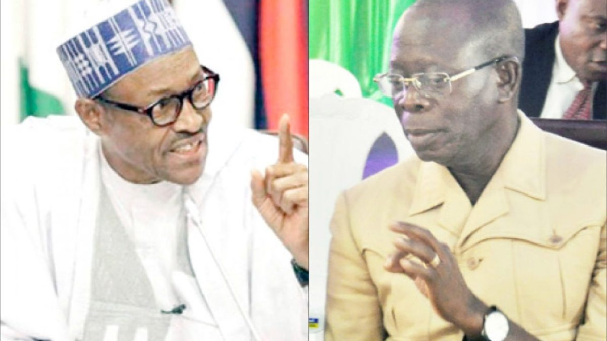 Photo of 18 NWC loyalist to Oshiomhole-Tinubu dares Buhari, says NEC meeting illegal
