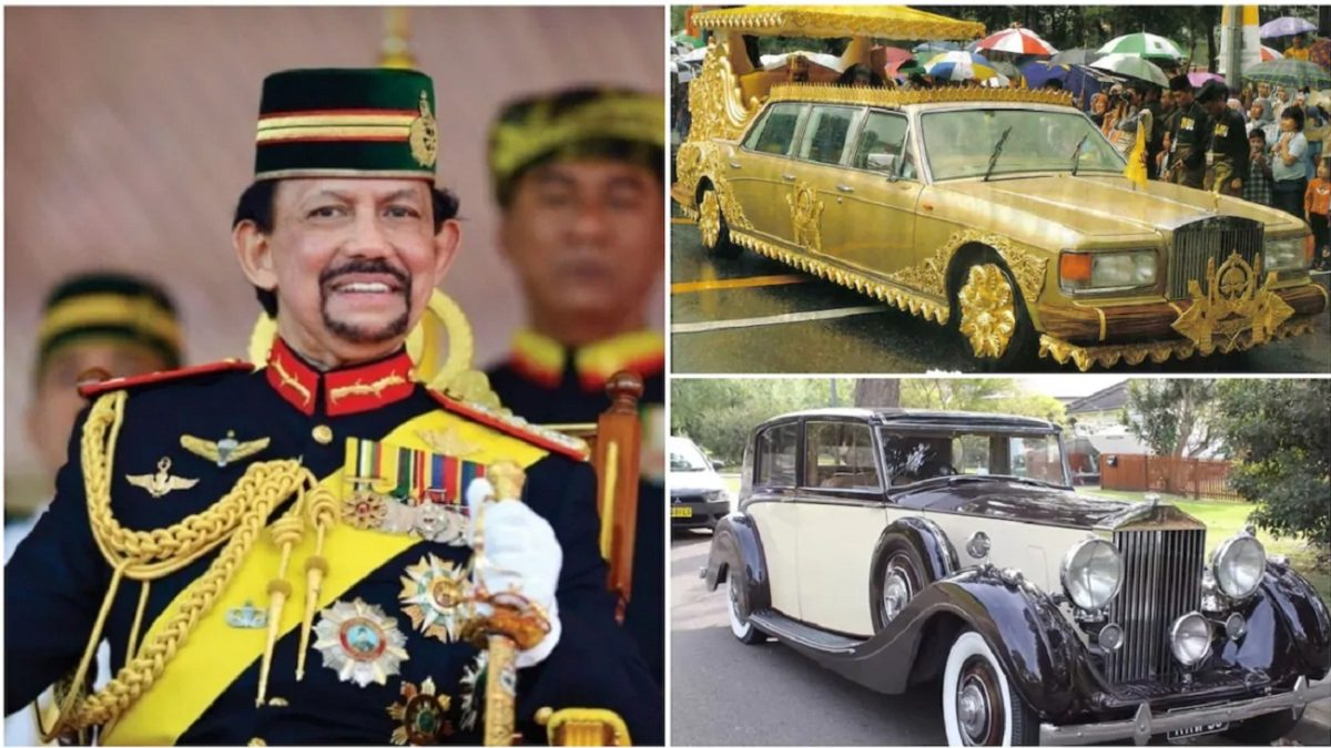 Photo of Meet world's richest Sultan has over 500 Roll-Royce, spending N7.7m to get a single haircut