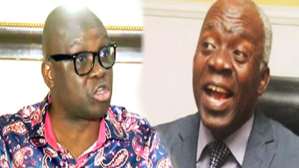 Photo of Stop acting like a saint – Fayose blasts Falana over alleged him N28m fraud