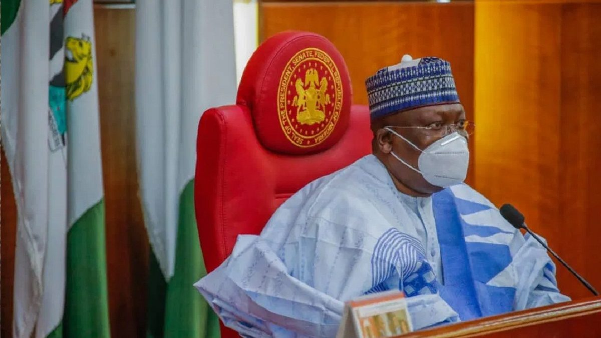 Photo of Senate President, Lawan speaks on 774,000 Jobs recruitment
