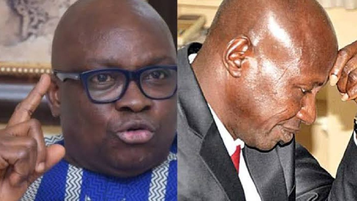 Photo of EFCC: Magu sold seized assets to associates, human rights lawyers – Fayose