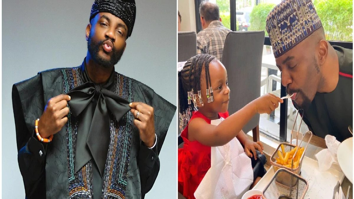 Photo of My daughter speaks four languages at three – BBNaija Anchor, Ebuka shades Princess Charlotte who speaks two languages at 2