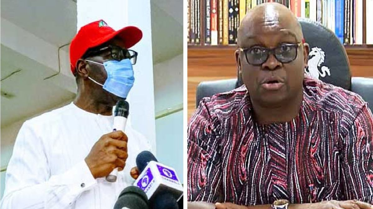 Photo of Edo Poll: Don't return to APC after victory – Fayose warns Obaseki