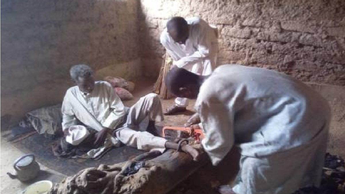 Photo of Another man chained by father for 30 years rescued in Kano; making three rescued in a week