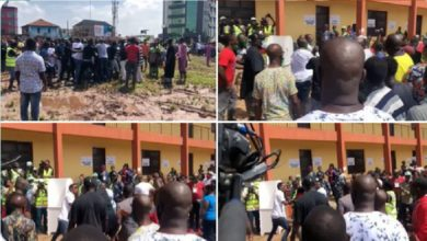 Photo of Edo Decides: Obaseki's thugs chase other party agents from polling unit