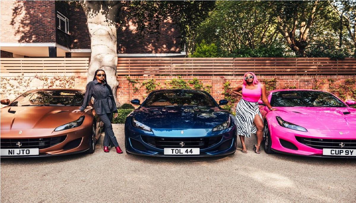 Otedola buys three Ferrari for daughters