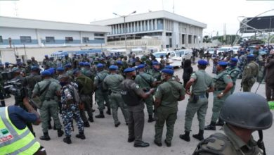 Photo of Edo Decides update: Security takes over Benin INEC office