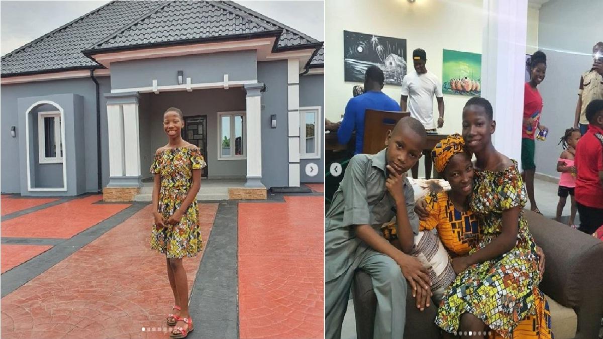 Emmanuella Samuel Builds A House For Her Mother